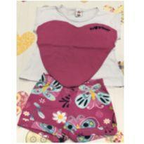 Conjunto Camiseta e Shorts Eu Amo Brincar - 4 anos - Zig Zig Zaa