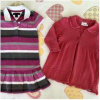 Kit Vestido Tommy + Casaquinho Lindo - 3 anos - Tommy Hilfiger e Noruega Baby