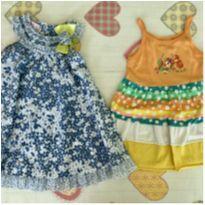 2 Vestidos pelo preço de 1 - 2 anos - MELAO VERDE