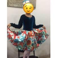 Fantasia de Marinheira (Ballet) - 8 anos - Não informada
