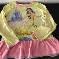 Pijama Bella e a Fera - 8 anos - Não informada
