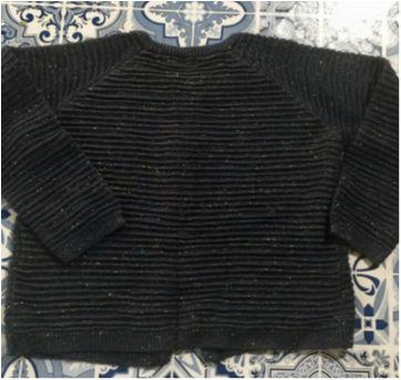 Tricot canelado de Lurex - 18 meses - Riachuelo