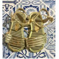 Sandália Dourada Molekinha - 20 - Molekinha e Molequinha