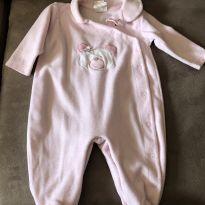 Baby Fashion - Macação - Tamanho M - 3 a 6 meses - Baby fashion