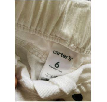 Short carters - 6 meses - Carter`s