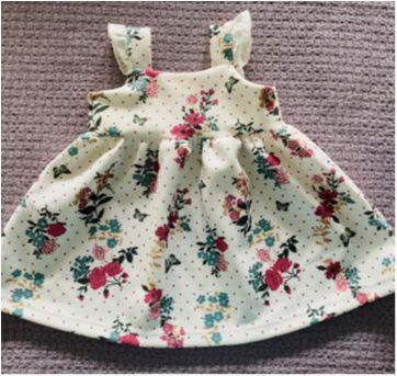 Vestido Florido - 3 a 6 meses - Teddy Boom