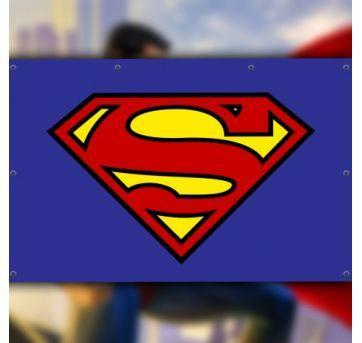 Painel Superman para Festa - Sem faixa etaria - Não informada