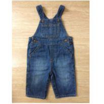 Jardineira GAP Jeans 6 a 12 meses - 6 a 9 meses - GAP