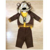 Conjunto de moleton 3 peças Koala Baby - 6 meses - Koala Baby