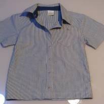 Camisa social - 12 a 18 meses - Milon