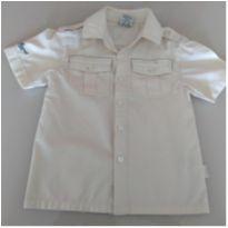 Camisa manga curta - 12 a 18 meses - Milon
