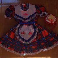 Vestido Festa Junina - 5 anos - Produto Artesal