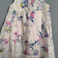 Vestido floral - 3 anos - meu primeiro jeans