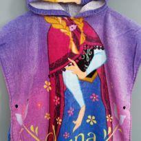 Roupão Poncho Anna - Frozen - 2 anos - Lepper