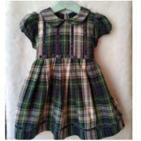 Vestido xadrez EPK - 18 meses - EPK