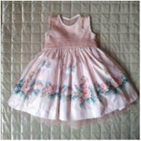 Vestido festa - Mió Bebê - 1 ano - Mio Bebê