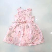 Vestido Floral - 18 a 24 meses - Lilica Ripilica