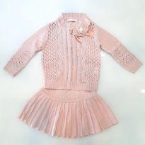 Conjunto tricot - 3 anos - Não informada