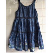 Vestido com pequenos bordados - 6 anos - Palomino