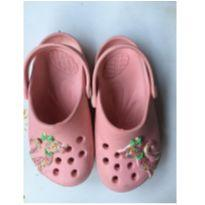 sapato tipo crocks rosa - 29 - plugt