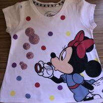 Camiseta Minnie Disney - TAM 1! - 18 a 24 meses - Disney