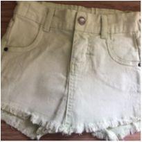 Short saia Malwee verdinho - tamanho 2! - 2 anos - Malwee