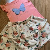 Conjunto Butterfly Lindo - Póim - Tamanho 2 ! - 2 anos - Poim, Cherokee e Up Baby
