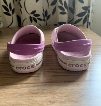 Crocs Roxo Minnie Original - C8/9 - Tam 26/27 - 26 - Crocs