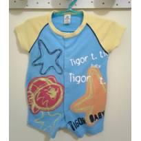 romper tigor baby - 0 a 3 meses - Tigor Baby
