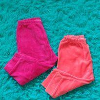 Par de calças de PLUSH - 3 a 6 meses - Sof & Enz Kids