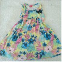 Vestido florido Tricae ❤️ - 3 anos - Tricae