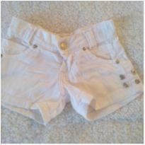Shorts branco❤️ - 3 anos - Sem marca
