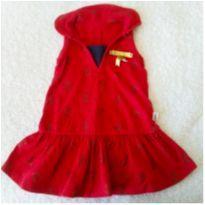 Vestido vermelho❤️ - 6 a 9 meses - Elian