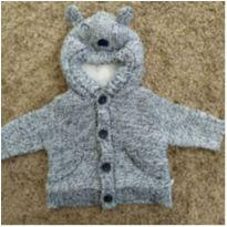 Casaco de tricot forrado inverno❤️ - 0 a 3 meses - Teddy Boom