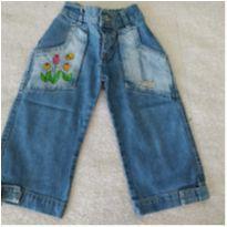Calça jeans bordada❤️