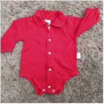 Body gola polo❤️ - 0 a 3 meses - Aconchego do Bebê