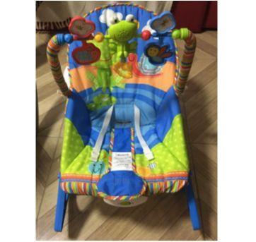 Cadeira de Descanso Bouncer Minha Infância Sapinho - Fisher Price - Sem faixa etaria - Fisher Price