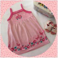 vestido bebê jaca lelé rosa - 12 a 18 meses - Jaca lele