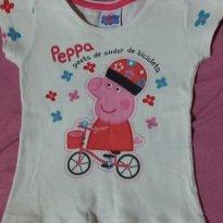 Blusa pepa - 2 anos - Peppa Pig