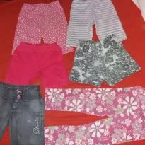 Kit bermudas e shorts - 4 anos - Várias