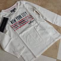 Camiseta Manga Longa Tommy Hilfiger (Original) Tam 24 meses - Nova!!!! - 2 anos - Tommy Hilfiger