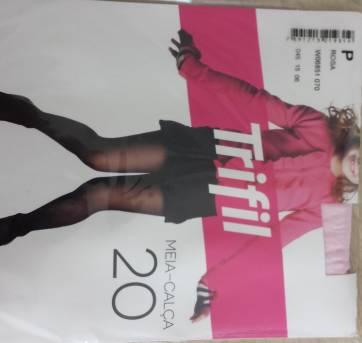 Meia calça Trifil Menina Tam P - Rosa - 3 anos - Trifil