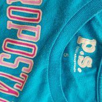 Camiseta Azul Tam 5 Aeropostale - 5 anos - Aeropostole