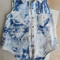 Colete tipo Camisa de Amarrar Zara Tam 6/7 - 6 anos - Zara