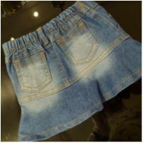 Saia Jeans - 1 ano - Sem marca