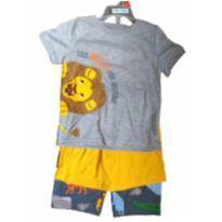 Pijama Menino 3 Peças Carter`s Importada - 2 anos - Carter`s