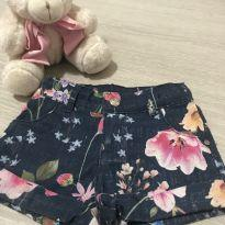 Shorts Jeans - 2 anos - Momi