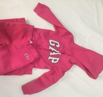 Conjunto moletom gap rosa - 3 anos - Baby Gap