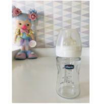 Mamadeira de Vidro Chicco original - 150ml (Bico novo) -  - Chicco