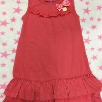 Vestido Hello Kitty com laço e pingente babadinhos tamanho 6 - 6 anos - Hello  Kitty